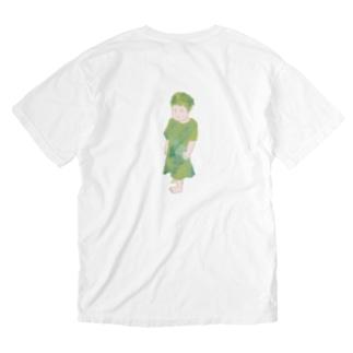 がんこちゃん Washed T-shirts