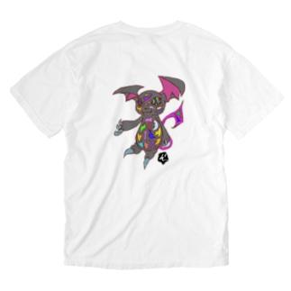 ★数量限定★ サイケデリックな小悪魔 Washed T-shirts
