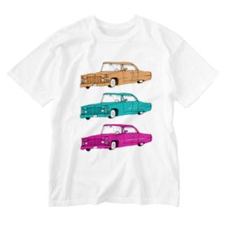 外車外車外車 Washed T-shirts