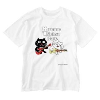 ネコ兄弟 tXTC_18 Washed T-shirts