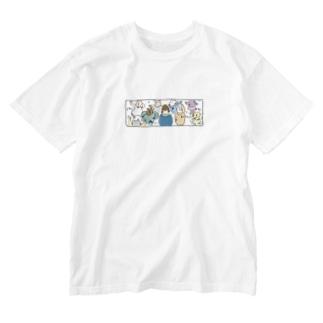音モレズンチャカ Washed T-shirts