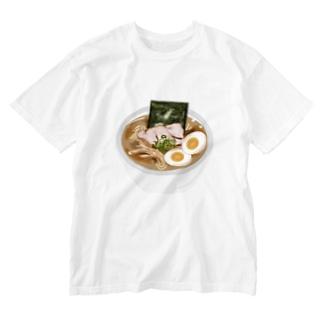 お前の見てたらラーメン食べたくなるだろう?グッズ Washed T-shirts
