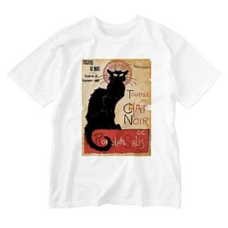 テオフィル・スタンラン 『 黒猫 』 Washed T-shirts