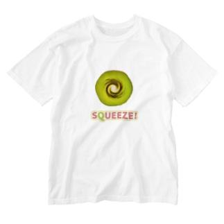 Squeeze! Kiwifruits Washed T-shirts