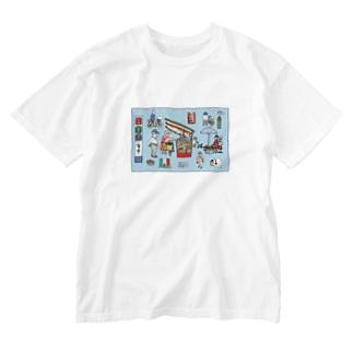 ぶらり岡崎1 Washed T-shirts
