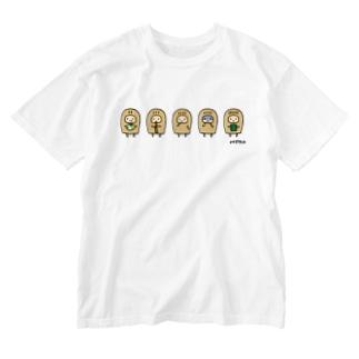 こぴっと5兄弟 Washed T-shirts