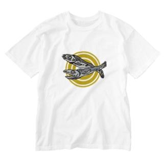 ニボシ丸 Washed T-shirts