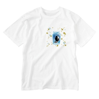 ペンギンの瓶詰めM Washed T-shirts