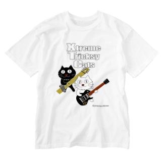 ネコ兄弟 tXTC_51 Washed T-shirts