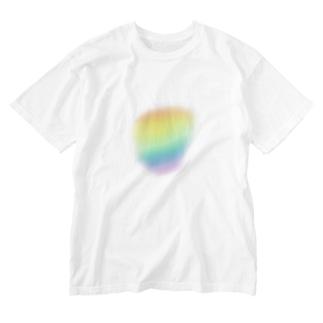 tiny rainbow Washed T-shirts