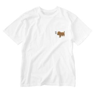ぬぬ Washed T-shirts