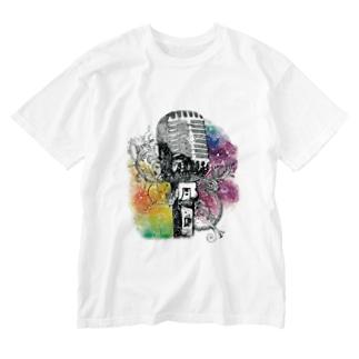 ジェネステ(ロゴ無し) Washed T-shirts
