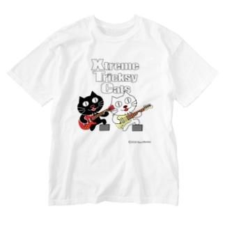 ネコ兄弟 tXTC_56 Washed T-shirts