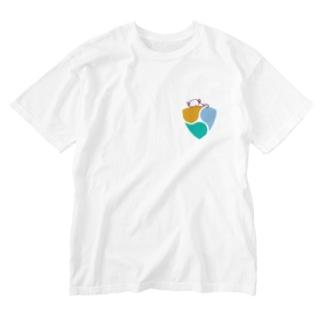 スタジオ嘉凰のnemおネム Washed T-shirts