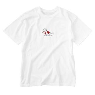 ちびドラゴン Washed T-shirts