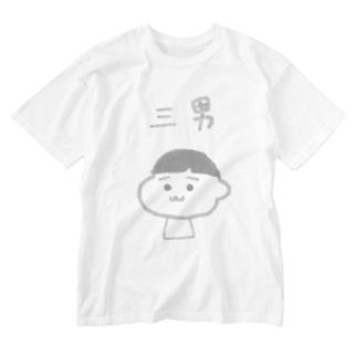サンナン Washed T-shirts