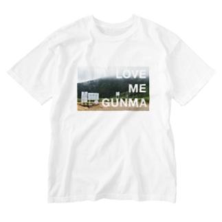 LOVE ME GUNMA Washed T-shirts