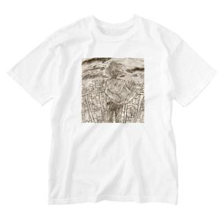 センチメンタルと思春期 Washed T-shirts