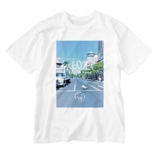 Kalakaua Ave. Washed T-shirts