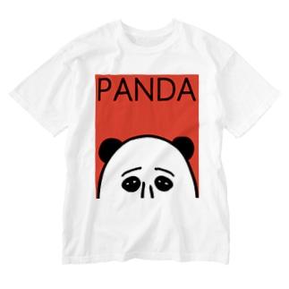 PANDA Washed T-shirts