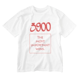 POINTS - 3900 Red Washed T-shirts
