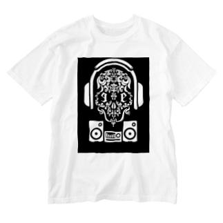 Jackpool の🎧☠️海賊王の舞☠️🎧 Washed T-shirts