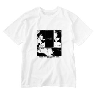 あの子とキス Washed T-shirts