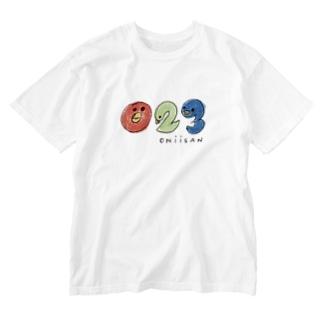「023」おにいさんです! Washed T-shirts