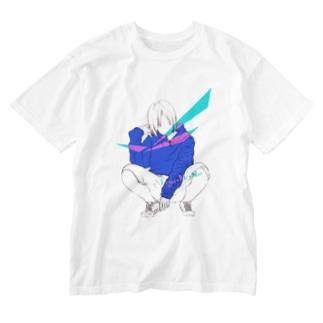 【My WEAR】ssMk Washed T-shirts