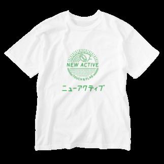 スペックスフットボールのニューアクティブ Washed T-shirts