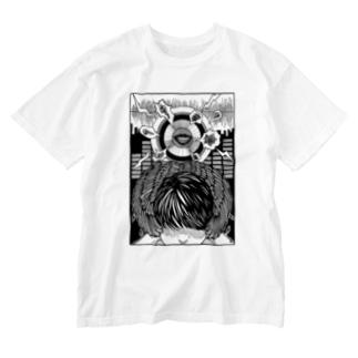 耳栓 Washed T-shirts