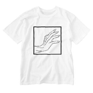 ストークハンド Washed T-shirts