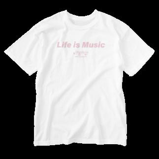404Records_SUZURISTOREのpink Washed T-shirts