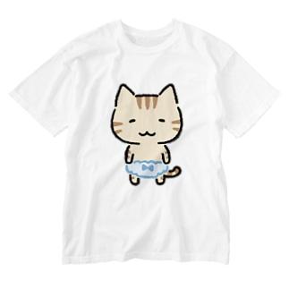 とらぱん Washed T-shirts