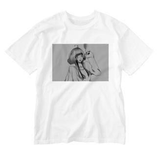 アイデンティティ Washed T-shirts