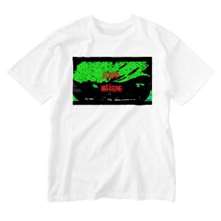 ラクガキ antisync Washed T-shirts