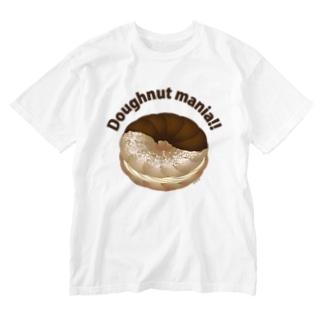 ドーナツマニア!!!ホイップサンド Washed T-shirts