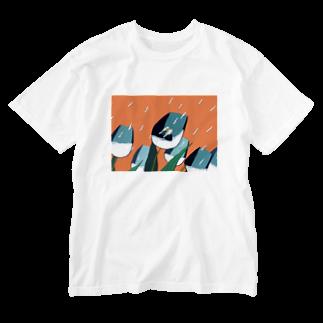 円玉のこういう夢 Washed T-shirts