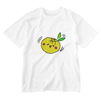 メロンパンじゃないもん Washed T-shirts