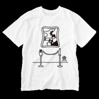 ORUBYのBread Art Museum Washed T-shirts