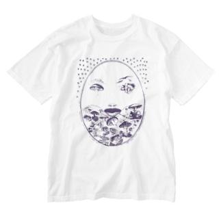 茸舞 Washed T-shirts