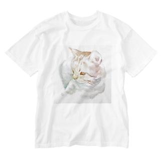 永井くん Washed T-shirts