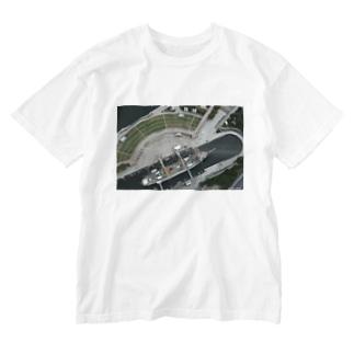 日本丸 Washed T-shirts