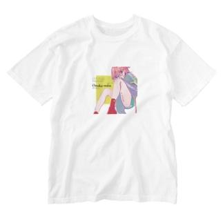 アイムハングリー Washed T-shirts