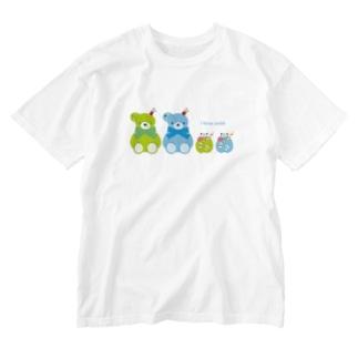ソーダなみんな、集合だよ Washed T-shirts