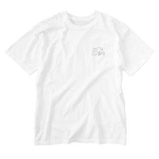Dog. Washed T-shirts
