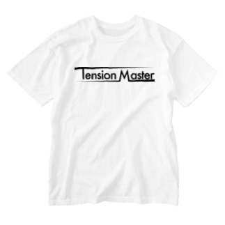 tension master #2 (black ink) Washed T-shirts