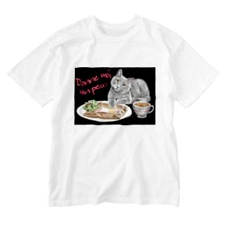 ちょっとちょーだい💕 Washed T-shirts