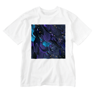 さかなや実験室の【肴】波間-2 Washed T-shirts