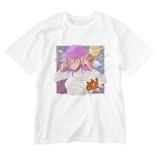 ぬ! Washed T-shirts